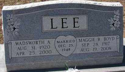 LEE, MAGGIE B. - Hillsborough County, Florida   MAGGIE B. LEE - Florida Gravestone Photos