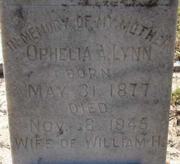 LYNN, OPHELIA A. - Hillsborough County, Florida | OPHELIA A. LYNN - Florida Gravestone Photos