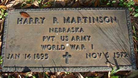 MARTINSON (VETERAN WWI), HARRY R. - Hillsborough County, Florida   HARRY R. MARTINSON (VETERAN WWI) - Florida Gravestone Photos