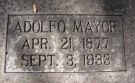 MAYOR, ADOLFO - Hillsborough County, Florida   ADOLFO MAYOR - Florida Gravestone Photos