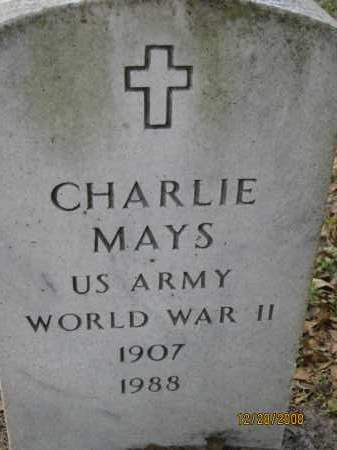 MAYS (VETERAN WWII), CHARLIE - Hillsborough County, Florida | CHARLIE MAYS (VETERAN WWII) - Florida Gravestone Photos