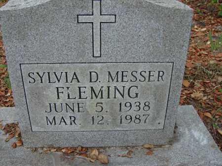 MESSER, SYLVIA D. - Hillsborough County, Florida | SYLVIA D. MESSER - Florida Gravestone Photos