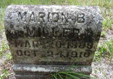 MILLER, MARION B. - Hillsborough County, Florida | MARION B. MILLER - Florida Gravestone Photos