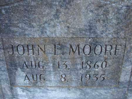 MOORE, JOHN E. - Hillsborough County, Florida | JOHN E. MOORE - Florida Gravestone Photos