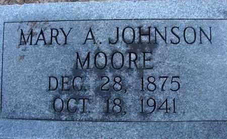 MOORE, MARY A. - Hillsborough County, Florida | MARY A. MOORE - Florida Gravestone Photos