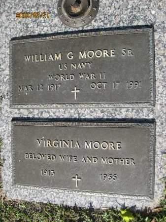 MOORE, SR (VETERAN WWII), WILLIAM G (NEW) - Hillsborough County, Florida | WILLIAM G (NEW) MOORE, SR (VETERAN WWII) - Florida Gravestone Photos