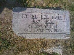 HALL, MRS. ETHEL LEE - Hillsborough County, Florida   MRS. ETHEL LEE HALL - Florida Gravestone Photos