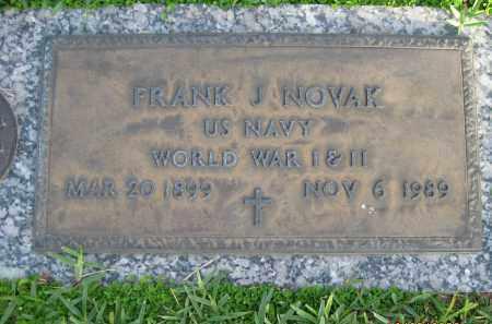 NOVAK (VETERAN WWI WWII), FRANK JOSEPH - Hillsborough County, Florida | FRANK JOSEPH NOVAK (VETERAN WWI WWII) - Florida Gravestone Photos