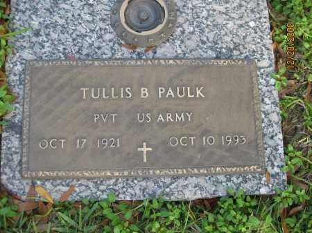PAULK (VETERAN), TULLIS B - Hillsborough County, Florida | TULLIS B PAULK (VETERAN) - Florida Gravestone Photos