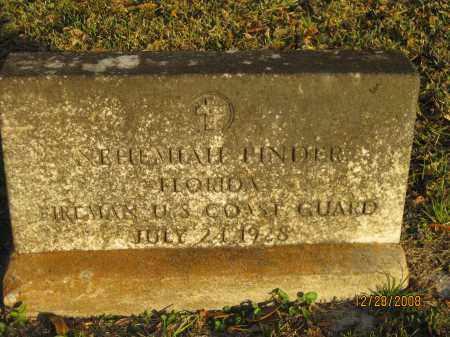 PINDER (VETERAN), NEHEMIAH - Hillsborough County, Florida | NEHEMIAH PINDER (VETERAN) - Florida Gravestone Photos