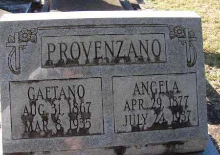 PROVENZANO, GAETANO - Hillsborough County, Florida | GAETANO PROVENZANO - Florida Gravestone Photos