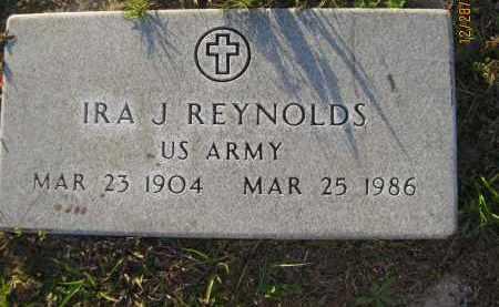 REYNOLDS (VETERAN), IRA J - Hillsborough County, Florida | IRA J REYNOLDS (VETERAN) - Florida Gravestone Photos