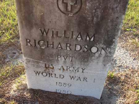 RICHARDSON (VETERAN WWI), WILLIAM - Hillsborough County, Florida | WILLIAM RICHARDSON (VETERAN WWI) - Florida Gravestone Photos
