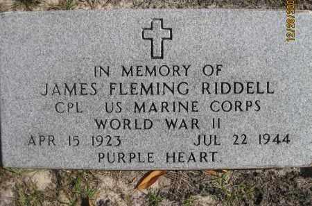 RIDDELL, JAMES FLEMING - Hillsborough County, Florida | JAMES FLEMING RIDDELL - Florida Gravestone Photos