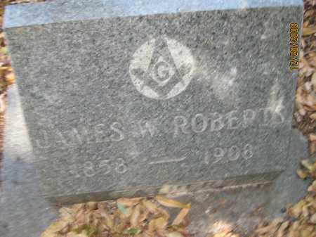 ROBERTS, JAMES W - Hillsborough County, Florida | JAMES W ROBERTS - Florida Gravestone Photos