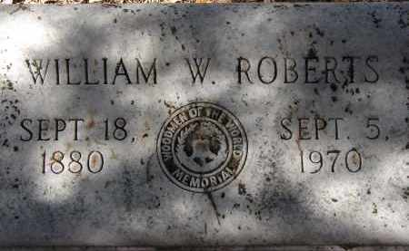 ROBERTS, WILLIAM W. - Hillsborough County, Florida | WILLIAM W. ROBERTS - Florida Gravestone Photos