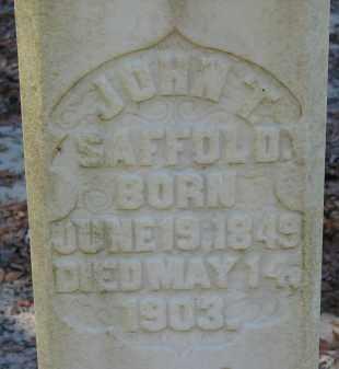 SAFFOLD, JOHN T. - Hillsborough County, Florida | JOHN T. SAFFOLD - Florida Gravestone Photos