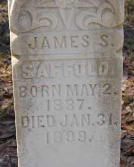 SAFFOLD, JAMES S. - Hillsborough County, Florida | JAMES S. SAFFOLD - Florida Gravestone Photos