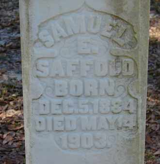 SAFFOLD, SAMUEL E. - Hillsborough County, Florida | SAMUEL E. SAFFOLD - Florida Gravestone Photos