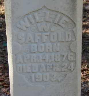 SAFFOLD, WILLIE W. - Hillsborough County, Florida | WILLIE W. SAFFOLD - Florida Gravestone Photos
