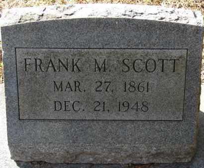 SCOTT, FRANK MILLER - Hillsborough County, Florida | FRANK MILLER SCOTT - Florida Gravestone Photos