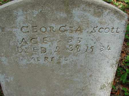 SCOTT, GEORGIA - Hillsborough County, Florida | GEORGIA SCOTT - Florida Gravestone Photos
