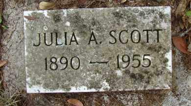 SCOTT, JULIA A. - Hillsborough County, Florida | JULIA A. SCOTT - Florida Gravestone Photos