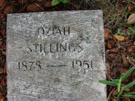 STILLINGS, OZIAH - Hillsborough County, Florida | OZIAH STILLINGS - Florida Gravestone Photos