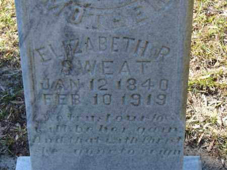 SWEAT, ELIZABETH R. - Hillsborough County, Florida | ELIZABETH R. SWEAT - Florida Gravestone Photos