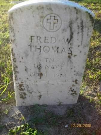 THOMAS (VETERAN), FRED W - Hillsborough County, Florida | FRED W THOMAS (VETERAN) - Florida Gravestone Photos