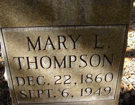 THOMPSON, MARY L. - Hillsborough County, Florida | MARY L. THOMPSON - Florida Gravestone Photos
