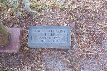 THORP, ANNIE BELLE - Hillsborough County, Florida | ANNIE BELLE THORP - Florida Gravestone Photos
