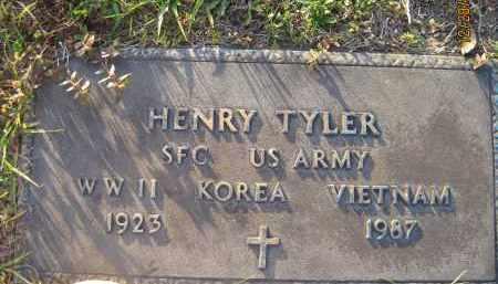 TYLER (VET. WWII KOR VIET), HENRY - Hillsborough County, Florida | HENRY TYLER (VET. WWII KOR VIET) - Florida Gravestone Photos