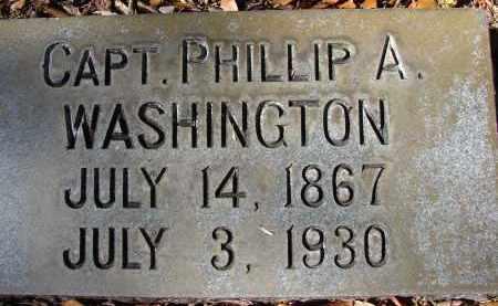 WASHINGTON, CAPT. PHILLIP A. - Hillsborough County, Florida   CAPT. PHILLIP A. WASHINGTON - Florida Gravestone Photos