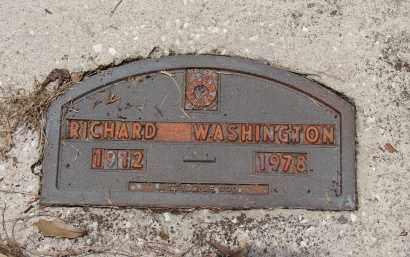 WASHINGTON, RICHARD - Hillsborough County, Florida | RICHARD WASHINGTON - Florida Gravestone Photos