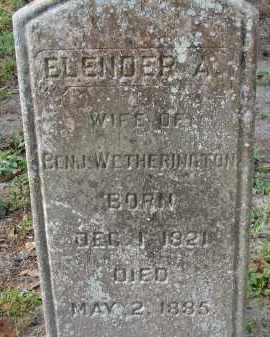 WETHERINGTON, ELENOER A. - Hillsborough County, Florida   ELENOER A. WETHERINGTON - Florida Gravestone Photos