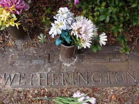 WETHERINGTON, HORACE W. - Hillsborough County, Florida | HORACE W. WETHERINGTON - Florida Gravestone Photos