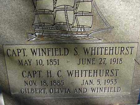WHITEHURST, CAPT. WINFIELD S. - Hillsborough County, Florida | CAPT. WINFIELD S. WHITEHURST - Florida Gravestone Photos