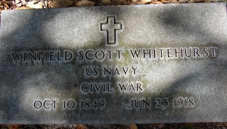 WHITEHURST (VETERAN CW), WINFIELD SCOTT - Hillsborough County, Florida | WINFIELD SCOTT WHITEHURST (VETERAN CW) - Florida Gravestone Photos