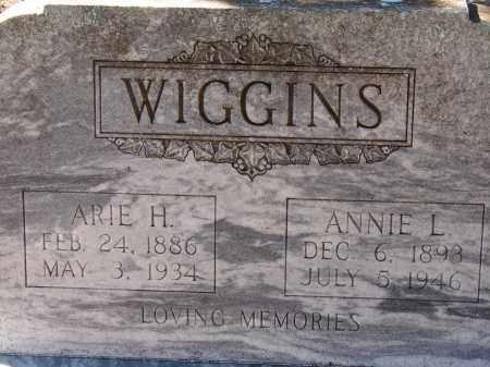 WIGGINS, ANNIE L. - Hillsborough County, Florida   ANNIE L. WIGGINS - Florida Gravestone Photos