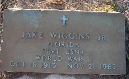 WIGGINS, JR (VETERAN WWII), JAKE - Hillsborough County, Florida | JAKE WIGGINS, JR (VETERAN WWII) - Florida Gravestone Photos