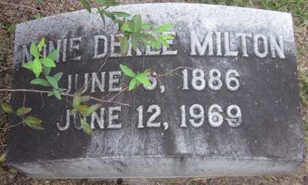 MILTON, NONIE - Jackson County, Florida | NONIE MILTON - Florida Gravestone Photos