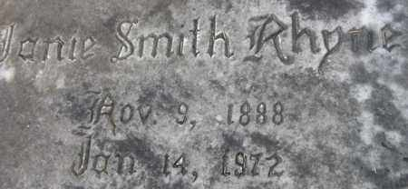 "RHYNE, MARTHA JANE ""JANIE"" - Jackson County, Florida   MARTHA JANE ""JANIE"" RHYNE - Florida Gravestone Photos"