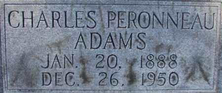 ADAMS, CHARLES PERONNEAU - Lee County, Florida | CHARLES PERONNEAU ADAMS - Florida Gravestone Photos