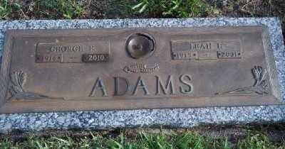 ADAMS, GEORGE EDWARD - Lee County, Florida   GEORGE EDWARD ADAMS - Florida Gravestone Photos