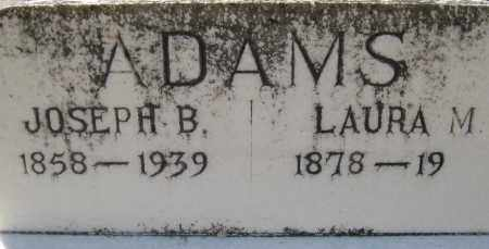 ADAMS, JOSEPH BENJAMIN - Lee County, Florida | JOSEPH BENJAMIN ADAMS - Florida Gravestone Photos