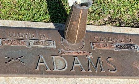 KNIGHT ADAMS, CLYDINE VIOLET - Lee County, Florida | CLYDINE VIOLET KNIGHT ADAMS - Florida Gravestone Photos