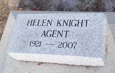 KNIGHT AGENT, HELEN - Lee County, Florida | HELEN KNIGHT AGENT - Florida Gravestone Photos