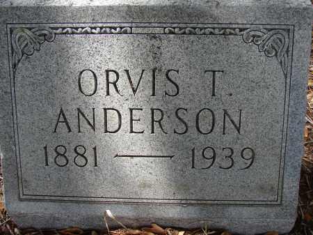 ANDERSON, ORVIS T - Lee County, Florida   ORVIS T ANDERSON - Florida Gravestone Photos