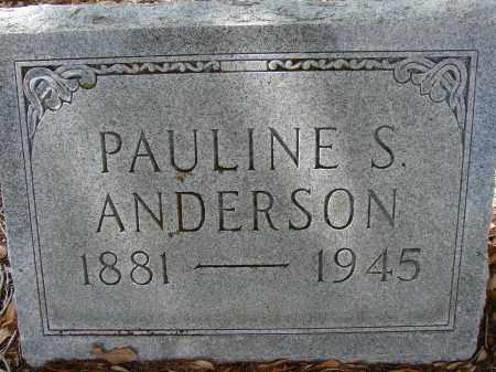 ANDERSON, PAULINE S - Lee County, Florida | PAULINE S ANDERSON - Florida Gravestone Photos
